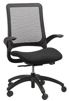 Shop Hawk Mesh Back Swivel Chair with Fabric Seat and other modern and contemporary home and office furniture. Browse our selection of Office and Task Chairs from Zuri Furniture. Swivel Office Chair, Mesh Office Chair, Office Chairs, Desk Chairs, Lounge Chairs, Side Chairs, Office Furniture, Conference Chairs, Ergonomic Chair