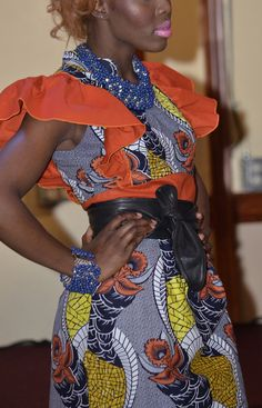African Print Dress by AnkaraRebel on Etsy, $80.00