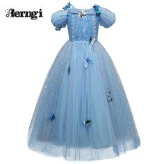 Check lastest price New Baby Girl Anna Elsa Dress High-Grade Sequined Princess Cinderella Fancy kids clothes For Party Costume Snow Queen Cosplay just only $11.82 - 12.78 with free shipping worldwide  #girlsclothing Plese click on picture to see our special price for you