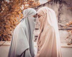 Dear my sweet friend Hijab Niqab, Muslim Hijab, Hijab Chic, Mode Hijab, Hijabi Girl, Girl Hijab, Niqab Fashion, Hijab Cartoon, Muslim Women Fashion