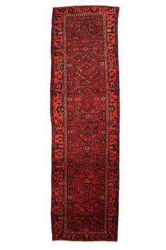 TRADITIONAL PERSIAN HAMADAN RUG 110 cm x 348 cm