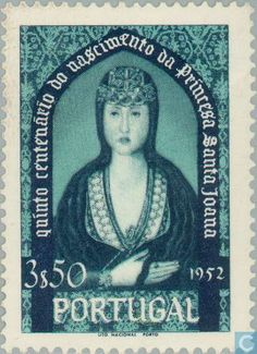 Portugal [PRT] - Princess St Johanna 500 years 1953