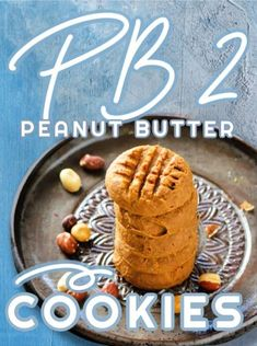PB2 Peanut Butter Cookies are great when you're craving sweets but don't want empty calories. If you're a dunker, you need to try these! #PB2 #low #calorie #peanut #butter #cookies