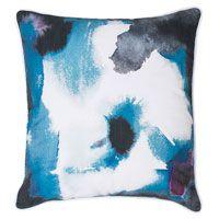Bambury Paint 43x43cm Filled Cushion Indigo