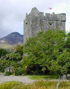 15th century Moy Castle, Island of Mull, Scotland