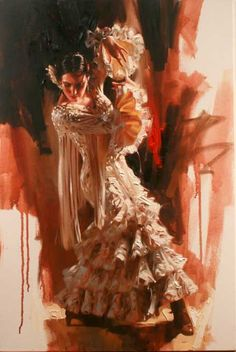 La Reina - 40 x 30 Giclee on Canvas