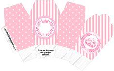 Caixa China in Box Kit Realeza Rosa