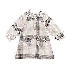 BABY GIRL SPRING PLAID DRESS