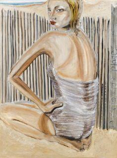 #art #painting @aPlage By yvette leihgeber