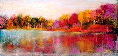 Autumn Trees in Painting by Hungarian Artist Gui Demeter ~ Blog of an Art Admirer Yes.