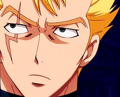 """""""Bring it on. See, the master's enemies are my enemies!"""" #Laxus #fairy tail"""