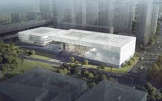 KSP Jürgen Engel Wins Competition for New Shenzhen Art Museum and Library,© KSP Jürgen Engel Architekten