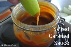 Highly addictive salt caramel sauce recipe! Sauce Recipes, My Recipes, Salted Caramel Sauce, Pudding, Desserts, Kitchen, Food, Tailgate Desserts, Deserts