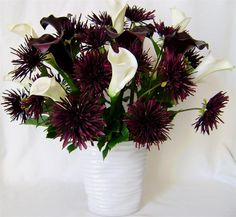spider mum and calla lilly bouquet pictures - Bing Images