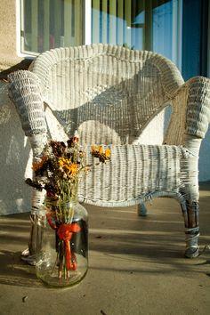 Day TwoWicker Chair by StinaReffittPhoto on Etsy, $150.00