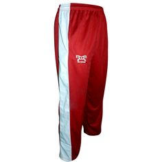 MyHOUSE Red pants are great for Karate and all types of kicking and squatting motions. It is cut low with plenty of room so they don't creep up on you. MyHouse designs the quality products for the Wrestler and #Sports enthusiast