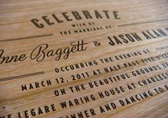 Printing on wood.. awesome.