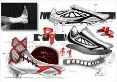 U-18 football products by shota murakami, via Behance
