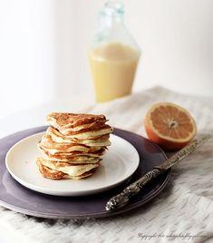 Śniadanie i podwieczorek: Placuszki pomarańczowe – White Plate