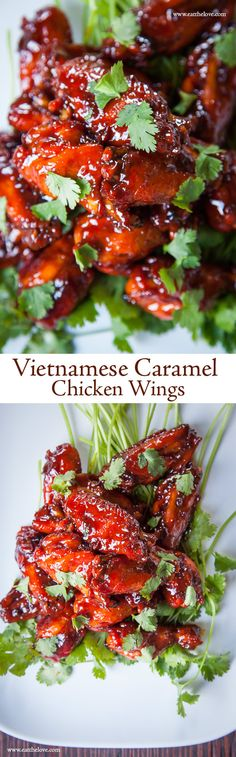 These sticky sweet, salty savory Vietnamese Caramel Chicken Wings are easier to make than you think!