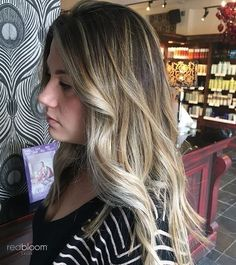 Ashy blonde tones  :: RedBloom Salon Ashy Blonde, Hair Painting, Color Trends, Salons, Hair Color, Long Hair Styles, Beauty, Grey Blonde, Lounges