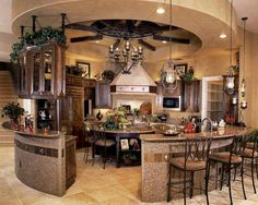 Love this beautiful kitchen!