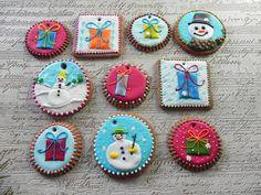 Dekoracje, Boże Narodzenie, ciastko, piernik