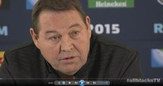 Hear from Steve Hansen as he faces the media and answers all their questions about the unchanged All Blacks team to take on Australia in the final of the 2015 Rugby World Cup.