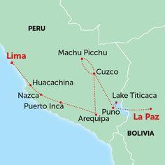 Inca Explorer 1 Tour to Bolivia - Overview