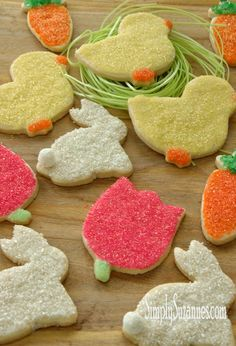 Simply Suzanne's AT HOME: Spring-inspired sugar cookies