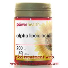 Can Alpha Lipoic Acid Lower High Creatinine Level