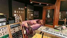 One if the recording studios at Paisley Park Museum.