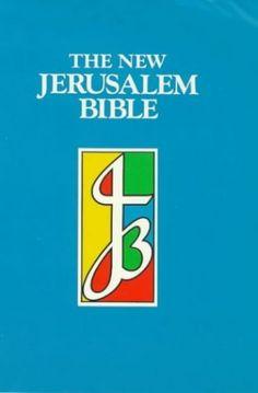 NJB Reader's Edition Cased Bible by Volume editor Henry Wansbrough Jerusalem Bible, New Jerusalem, International Bible, Nonfiction Books, Editor, Religion, God, Dios, Religious Education