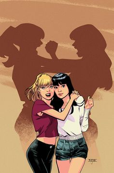 Betty & Veronica #1 Variant CoverI've actually done a cover for an Adam Hughes book which is just an incredible sentence. It's been a pleasure to be a part of this and I'm really looking forward to this book this summer.