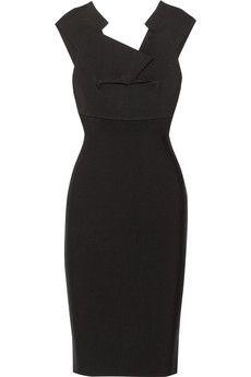 Roland Mouret Veila stretch-crepe dress   NET-A-PORTER