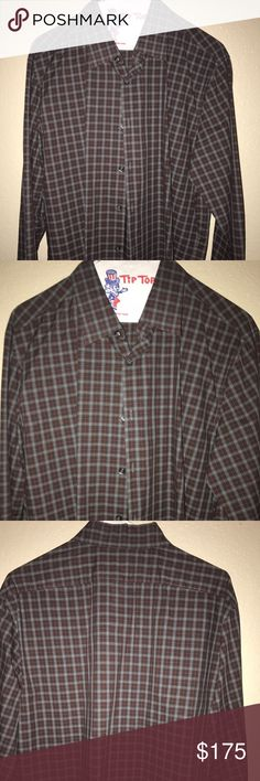 Men's shirt Men's designer shirt in excellent condition Theory Shirts
