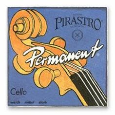 Pirastro Permanent Cello A String by Permanent (Pirastro). $32.29. Pirastro Permanent Cello A StringChromesteel wound on steel core