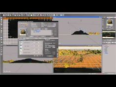 Creating Water Roads scene in Vue, part two. Epic Landscapes Six. - YouTube