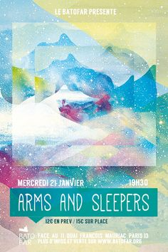 Win free tickets for the show in Paris, France at Batofar on Wed 21 Jan 2015. #armsandsleepers #livemusic #music #paris #batofar #france #europe #tour #january #2015