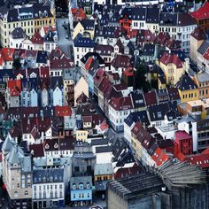 Bergen from above, Norway (by Daniela Nobili)