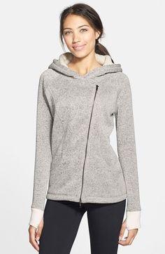 Zella 'Winter Wonder' Sweatshirt Jacket available at #Nordstrom