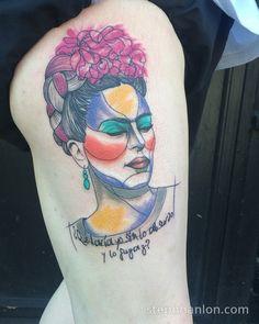 makhalovski frida kahlo tattoo inked skin pinterest. Black Bedroom Furniture Sets. Home Design Ideas