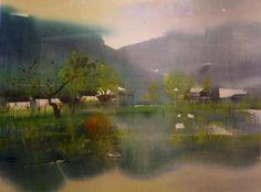 zhu zhiqiang watercolor - Bing Images