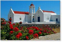 Church in Mykonos island, Greece Mykonos Island, Mykonos Greece, Island Beach, The Holy Mountain, Train Travel, Architecture Art, Wonders Of The World, Adventure Travel, Places Ive Been