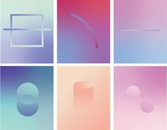 Angela Chan on Behance Welcome To My Page, Splash Screen, Behance, Stop Motion, Abstract Pattern, Gradient Color, Colours, Graphic Design, Cool Stuff