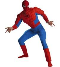 SPIDE-MAN DELUXE MUSCLE COSTUME
