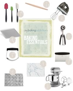 Must-Have Tools For the Home Baker | My Baking Addiction Some of the most common questions that pop up in my MBA email have to do with product suggestions. From seeking info about my most reached for spatulas to absolute my favorite mixers – you guys want answers, so I thought I'd create a post dedicated to my Must-Have Tools For The Home Baker.