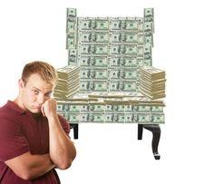 Do you have money lying around?
