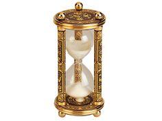 Reloj de Arena damasquinado en oro, TRÍO - Toledo Gold