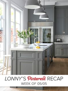 Lonny's Top Pin of the Week: Your Favorite Kitchen Brought to you by LG Studio